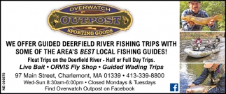 We Offer Guided Deerfield River Fishing Trips