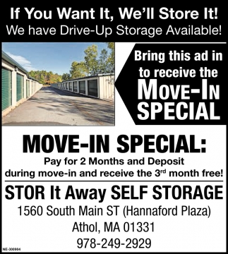 Move-In Special