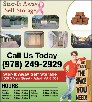 We Have The Space You Need!