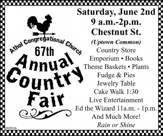 67th Annual Country Fair