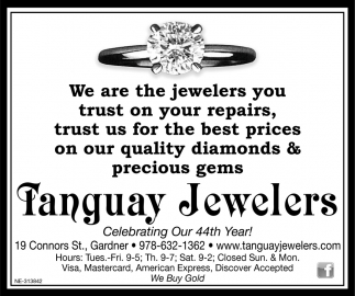 Celebrating Our 44th Year!