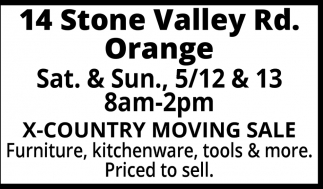 14 Stone Valley Rd Orange