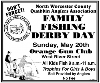 Family Fishing Derby Day