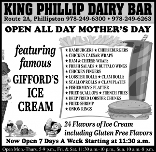 Open All Day Mother's Day