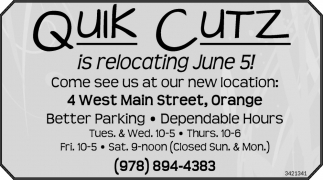 Is Relocating June 5!