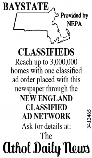 Baystate Classifieds