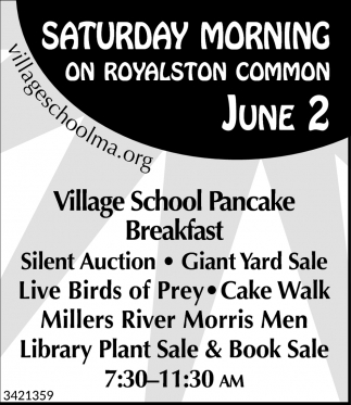 Village School Pancake Breakfast
