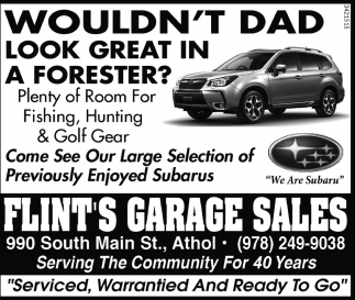 Wouldn't Dad Look Great In A Forester?