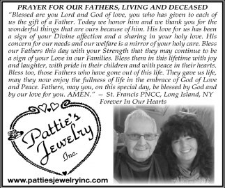 Prayer For Our Fathers, Living And Deceased