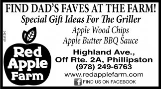 Find Dad's Faves At The Farm!
