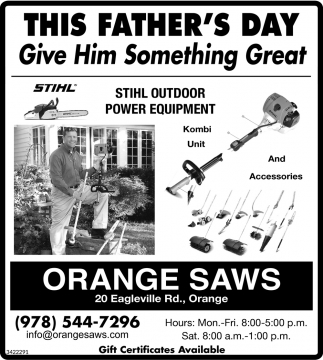 This Father's Day Give Him Something Great