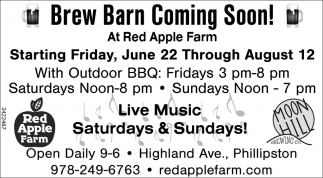 Brew Barn Coming Soon!