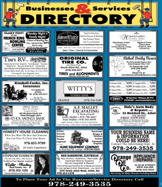 Business And Services Directory