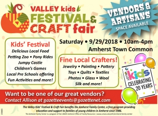 Valley Kids Festival And Craft Fair