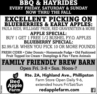 BBQ And Hayrides