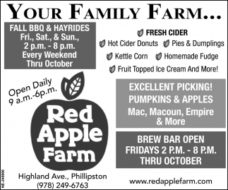 Your Family Farm...