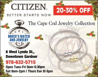 The Cape Cod Jewelry Collection