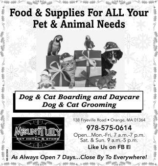 Dog & Cat Boarding And Daycare
