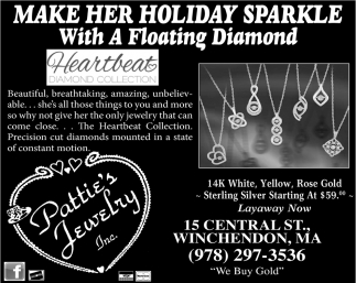 Make Her Holiday Sparkle With A Floating Diamond