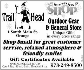Outdoor Gear & General Store