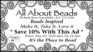 Save 10% With This Ad, All Abaout Beads