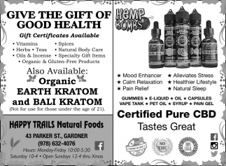 Give The Gift Of Good Health
