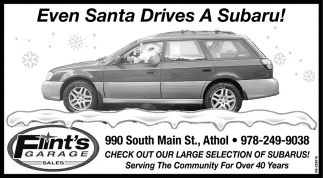 Even Santa Drives A Subaru!