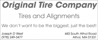 Tires And Alignments