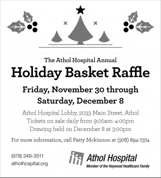 Holiday Basket Raffle