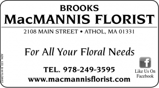 For All Your Floral Needs