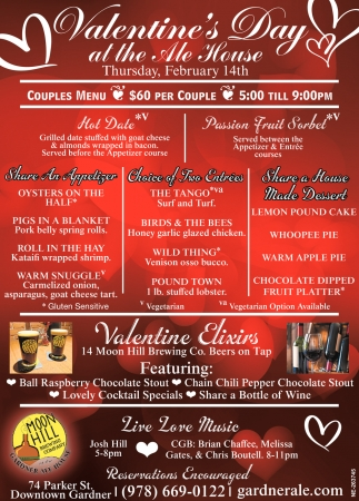 Valentine's Day At The Ale House