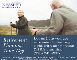 Retirement Planning Your Way.