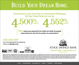 Build Your Dream Home.