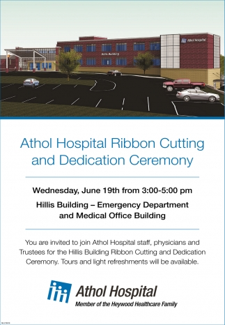 Athol Hospital Ribbon Cutting And Dedication Ceremony
