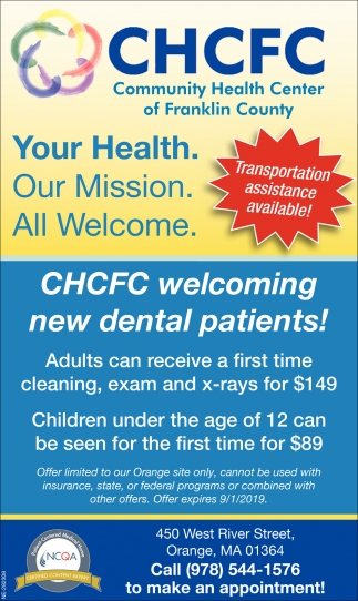 Your Health. Our Mission. All Welcome.