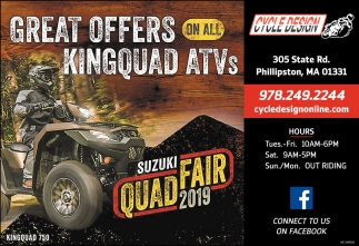 Great Offers On All Kingquad ATVs